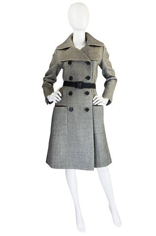 1960s Beautifully Tailored Norman Norell Couture Coat