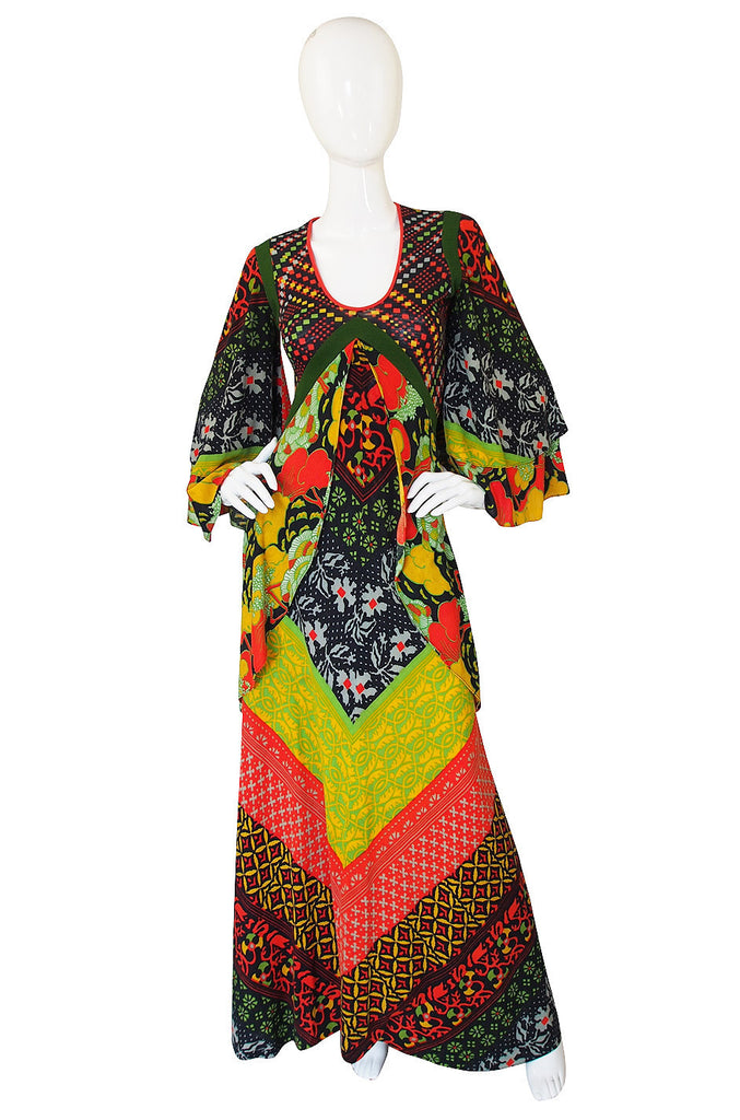 f1971-72 Georgio di Sant'angelo Medieval Dress