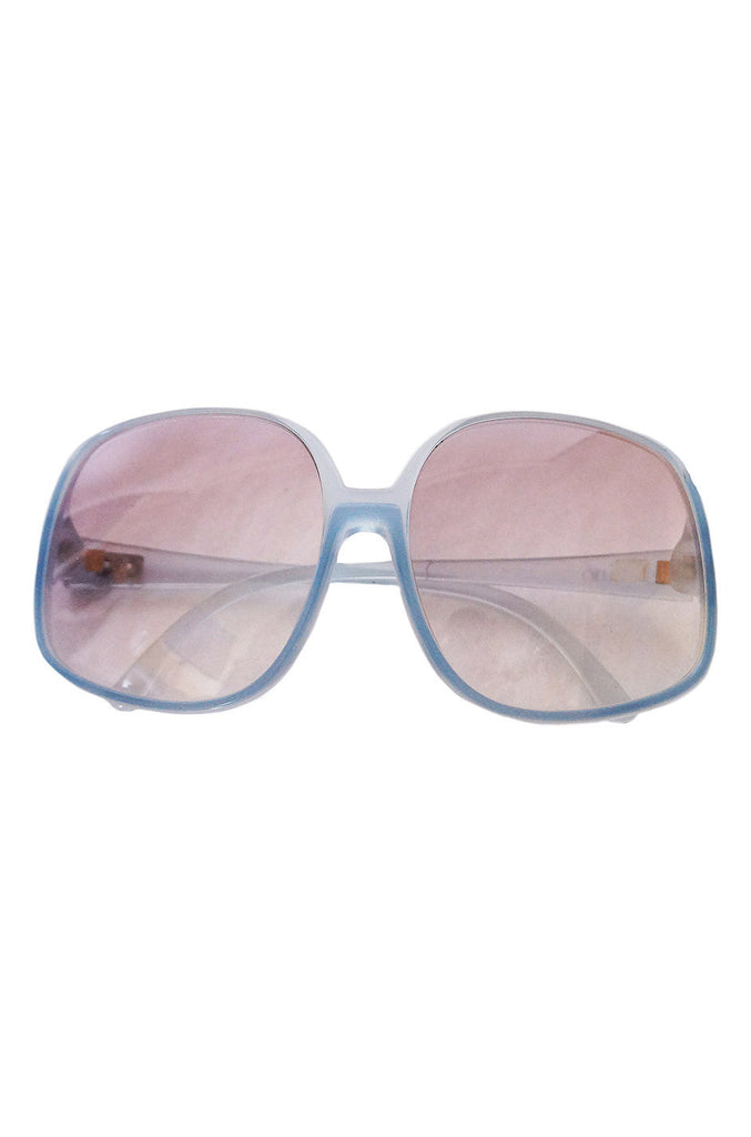 1970s Light Blue Valentino Sunnies