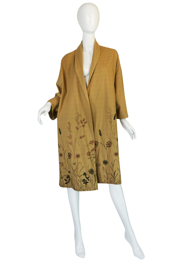 S/S 2005 Marni Runway Embroidered Duster Coat