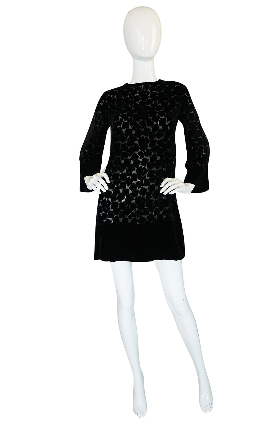 Yves Saint Laurent Silk Shift Dress Wiki For Sale Choice Cheap Price Q3RE2C