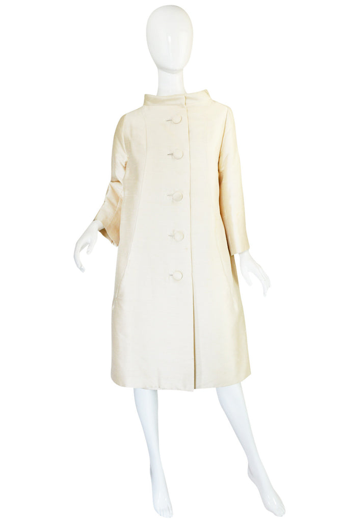 c1960 Christian Dior London Couture Numbered Coat & Dress