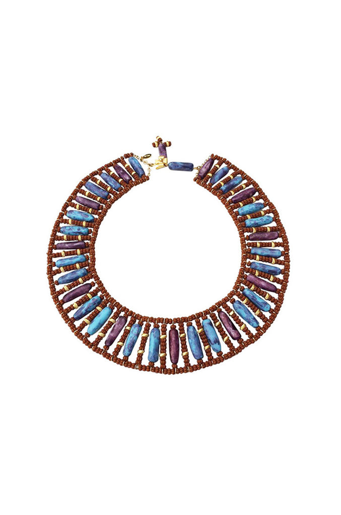 1969 William de Lillo Egyptian Revival Collar