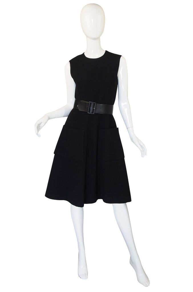 1960s Suzy Perette Full Skirt Pocket Dress