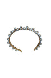 1969 William de Lillo Gilt & Crystal Head Band