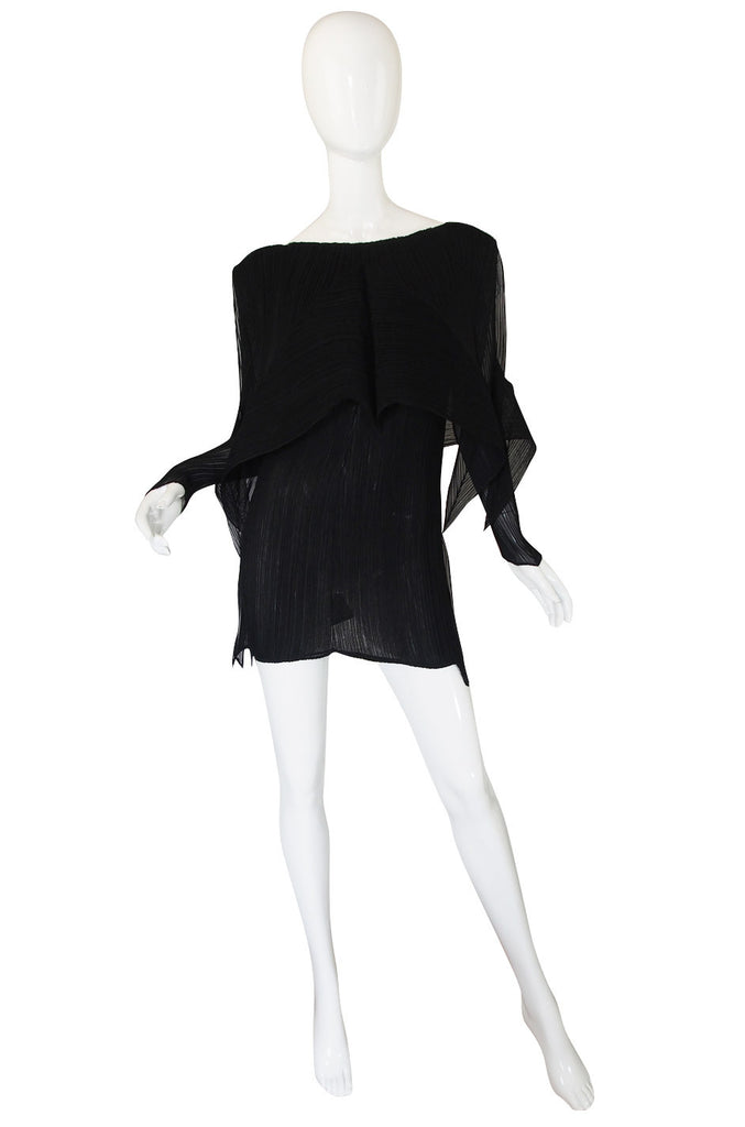 "c.2000s Issey Miyake ""Fete"" Pleat Tunic or Mini"