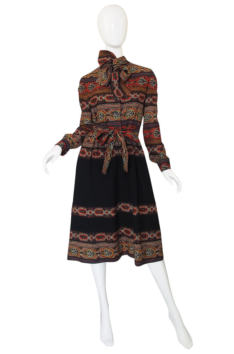 1960s Oscar de la Renta Dress & Shawl