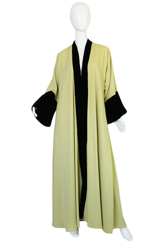 Documented 1950s Yma Sumac's Sophie Gimbel Silk Evening Coat Robe