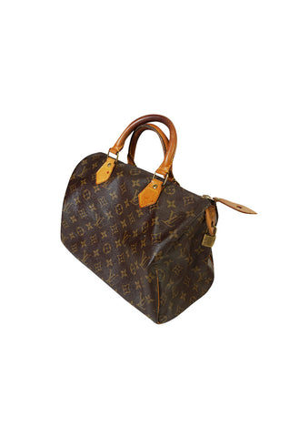 Vintage Louis Vuitton Logo Mini Duffle Speedy Bag