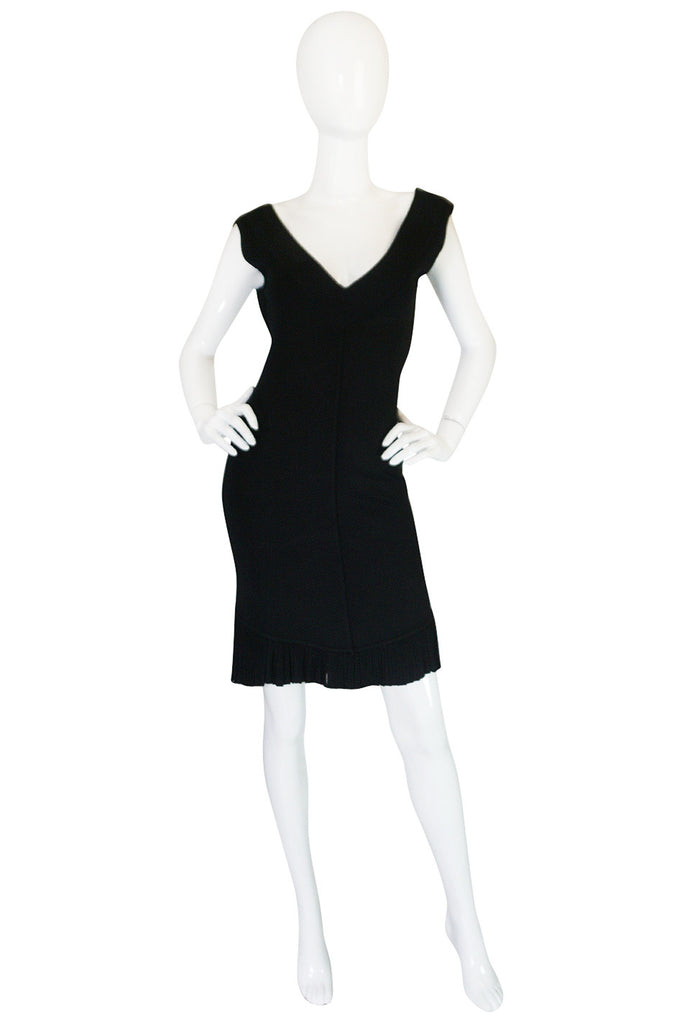 Spring 1990 Collection Azzedine Alaia Backless Fishtail Dress