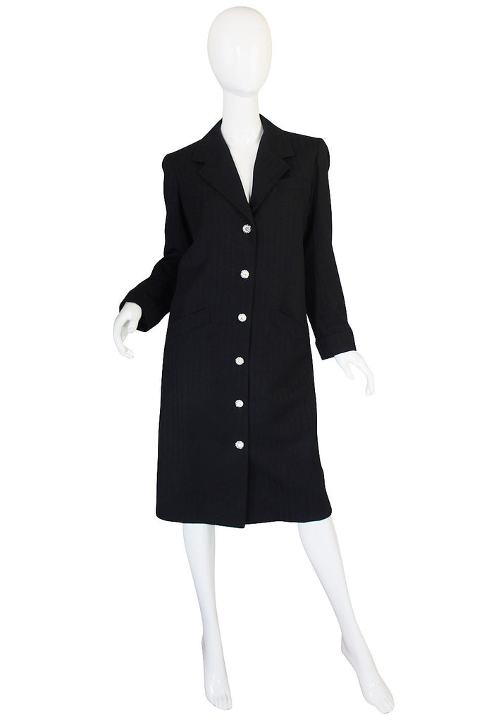 1980s Yves Saint Laurent Tailored Coat or Dress