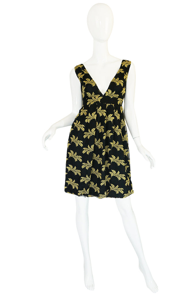 Treasure Item - Early 2000s See by Chloe Leaf Dress