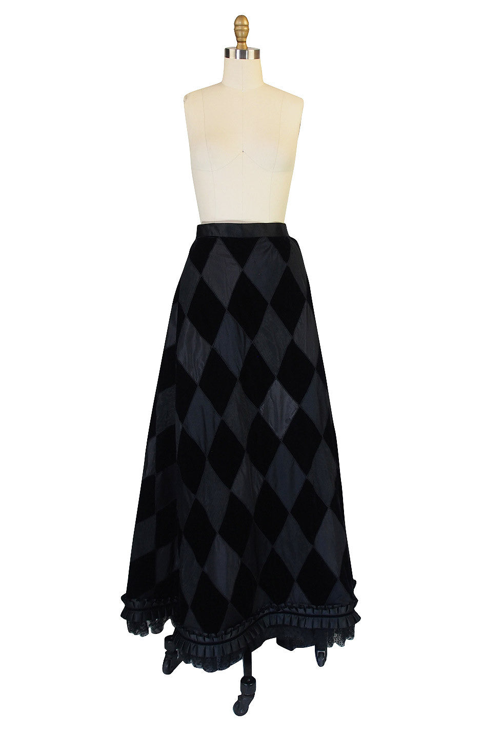 c1980 XL Yves Saint Laurent Ball Gown Skirt | shrimptoncouture.com