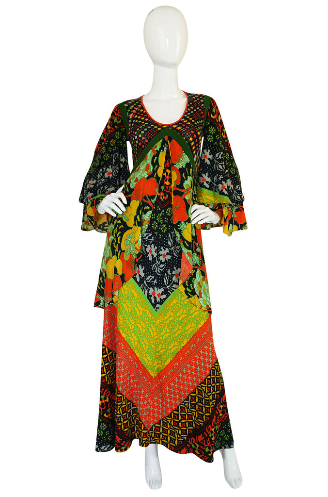 Museum Held F/W 1971 Giorgio di Sant'Angelo Medieval Dress