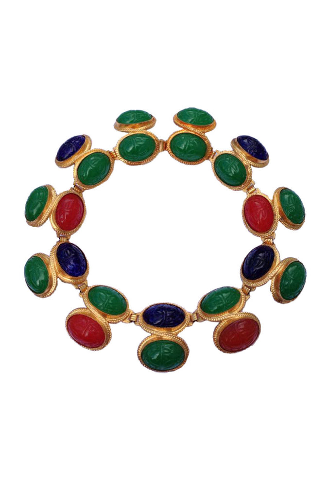 1970s William de Lillo 'Egyptian Revival' Collar