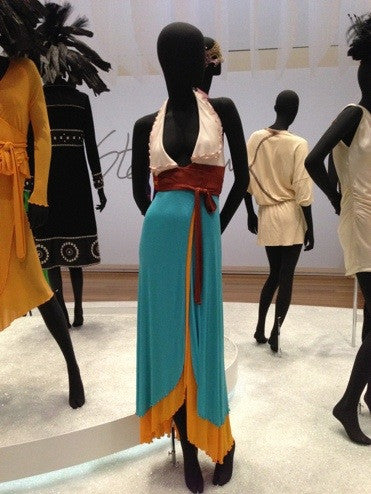 1972 Stephen Burrows Museum Exhibit Dress