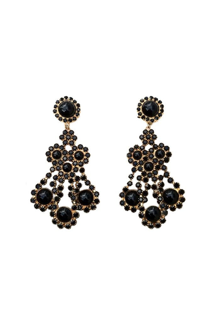 Archive Chandelier WILLIAM de LILLO Earrings 1968