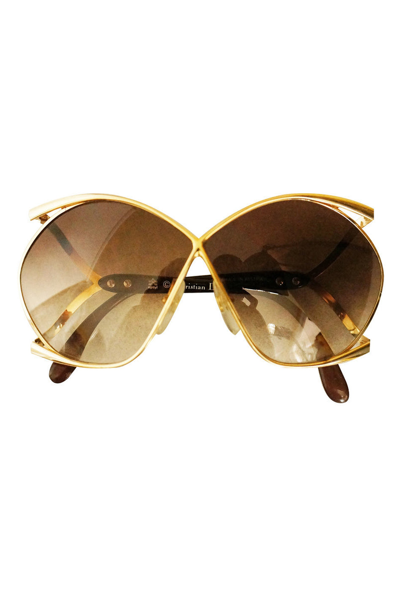 1970s Christian Dior Butterfly Sunnies