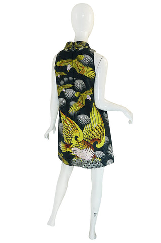 Recent Manish Arora Beaded & Sequin Eagle Print Dress