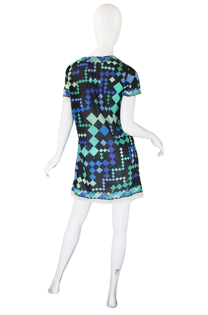 1960s Emio Pucci Formfit Rogers Tunic or Mini Dress