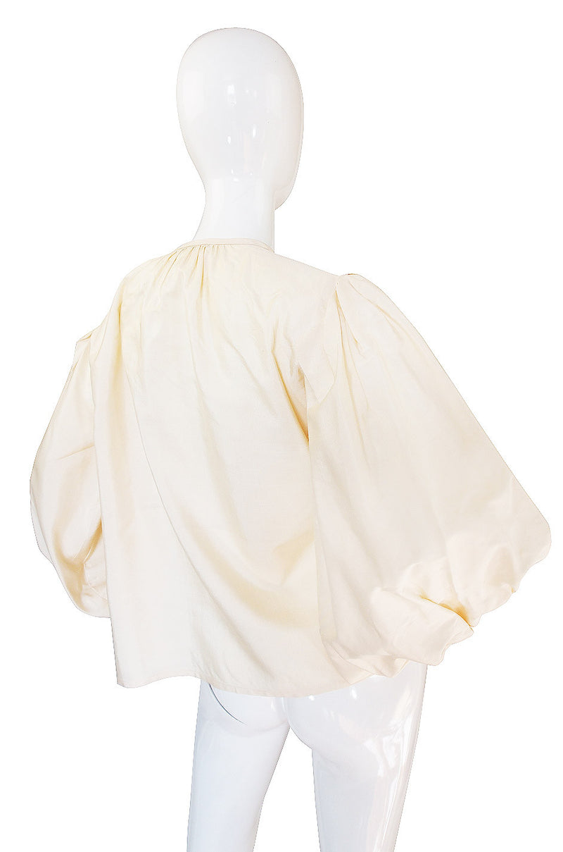 1970s Yves Saint Laurent Russian Collection Top
