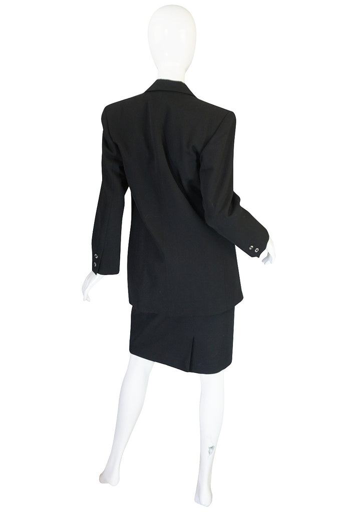 "1970s Yves Saint Laurent ""Le Smoking"" Tuxedo Suit"
