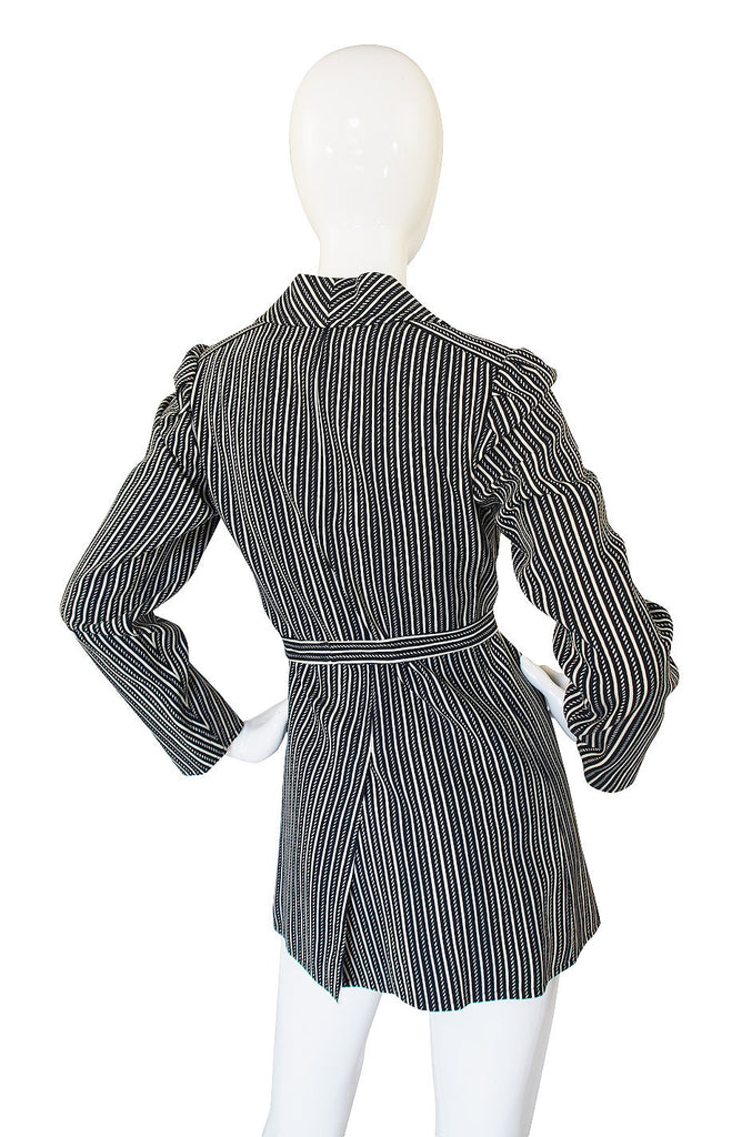 1970s Emanuel Ungaro Striped Jacket