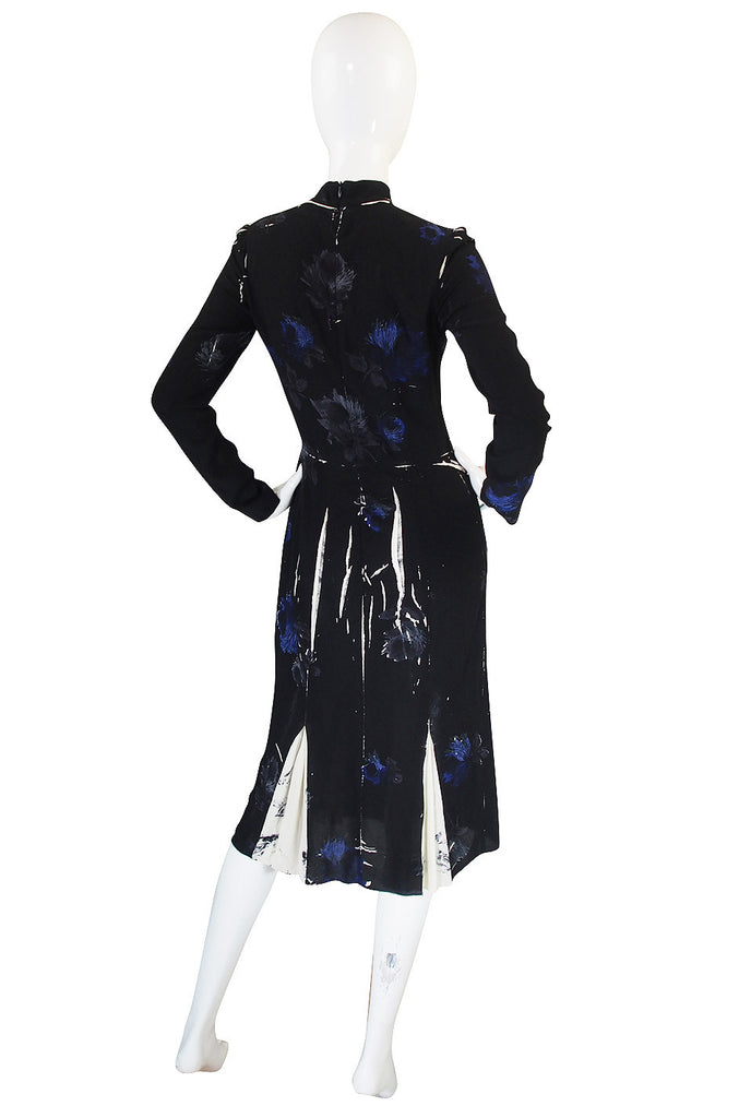 Fall 2005 Look #43 Silk Floral Prada Runway Dress
