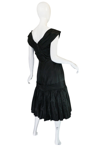 Treasure Item - 1950s Silk Dropped Skirt Suzy Perette Dress