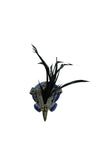 Now On Sale - Limited Edition Lanvin Hawk Stone & Feather Brooch