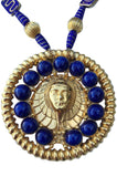 1973 William de Lillo Egyptian Revival Pendant Necklace