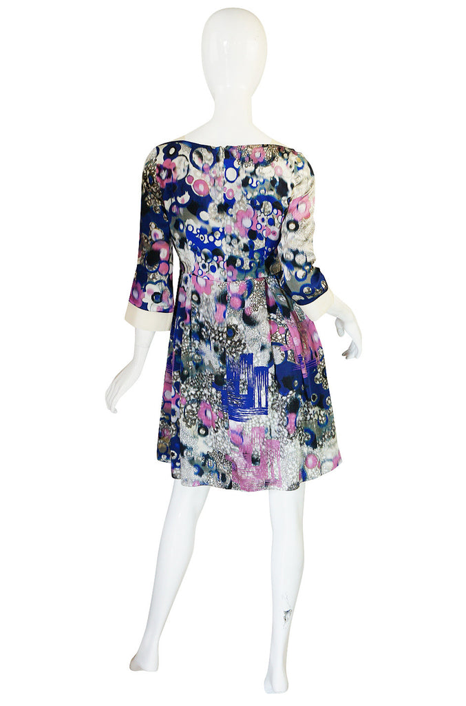 Recent Erdem Custom Fabric Silk Watercolor Dress