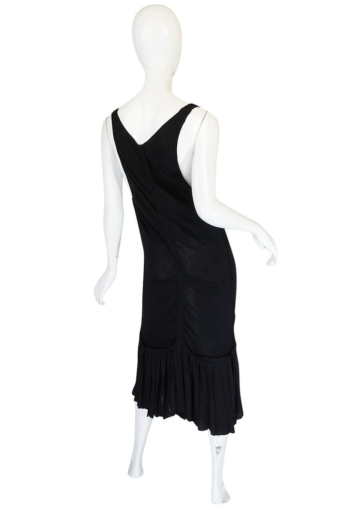 "Spring 1990 Azzedine Alaia Scooped Front ""Fishtail""Dress"