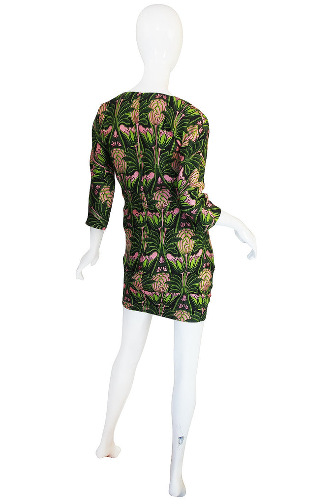 F/W 2003 Prada Holliday & Brown Collab Silk Dress