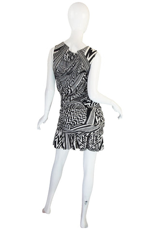 S/S 2010 Givenchy Tribal Print Mini Dress NWT