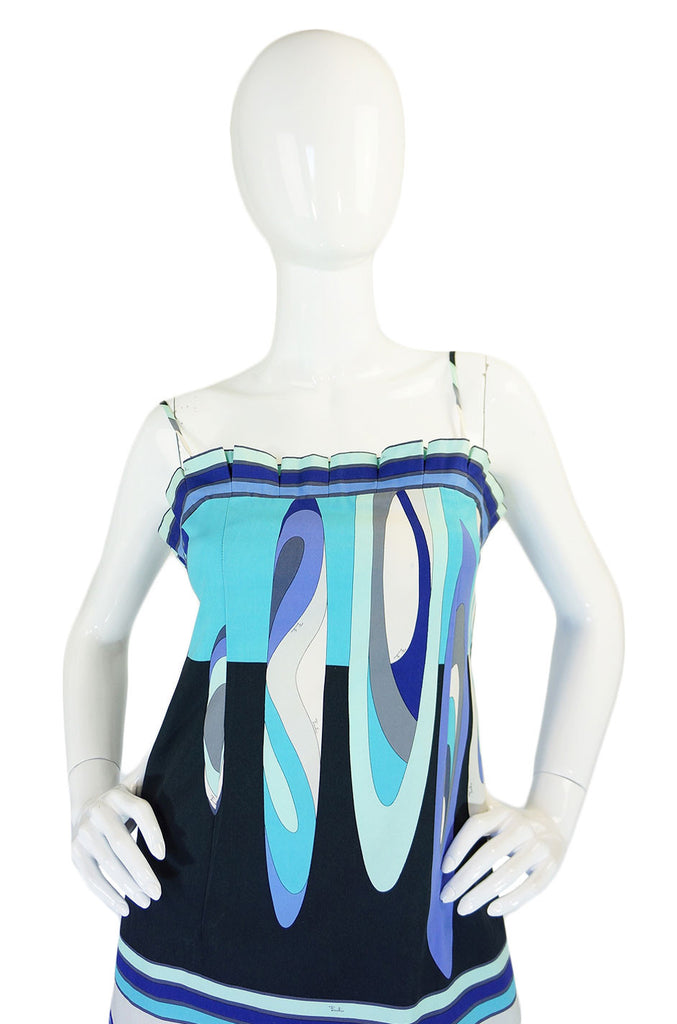 1990s Emilio Pucci Cotton Sun Dress