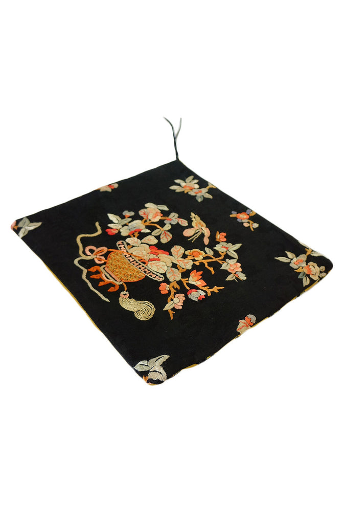Antique Kimono Silk Fabric Clutch