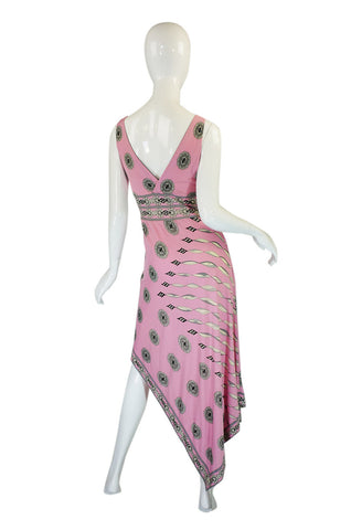 1970s Amazing Pink Emilio Pucci Dress