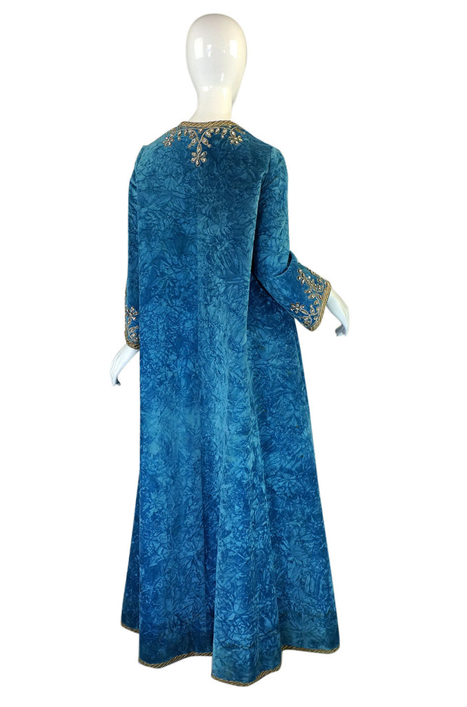 1967 George Halley Couture Caftan