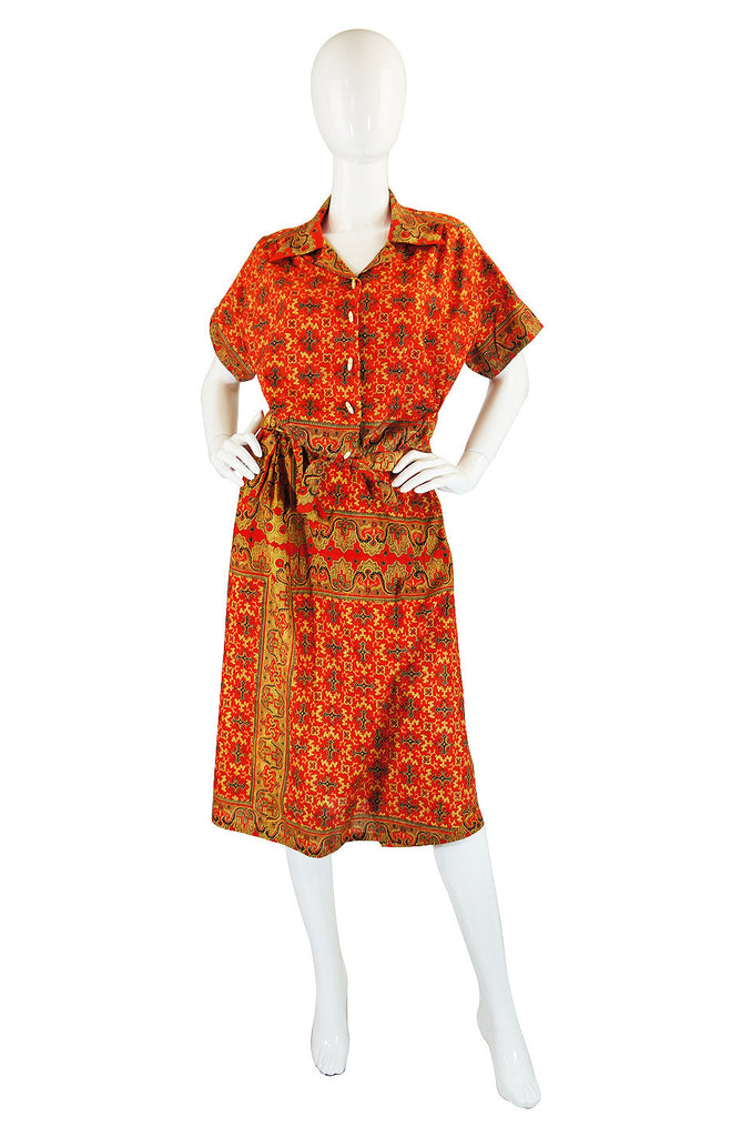 1940s Three Piece Mexican Cotton Set