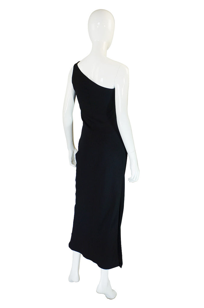 1990s One Shoulder Valentino Maxi