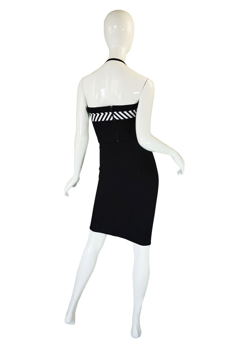 1990s Herve Leger Graphic Bandage Set