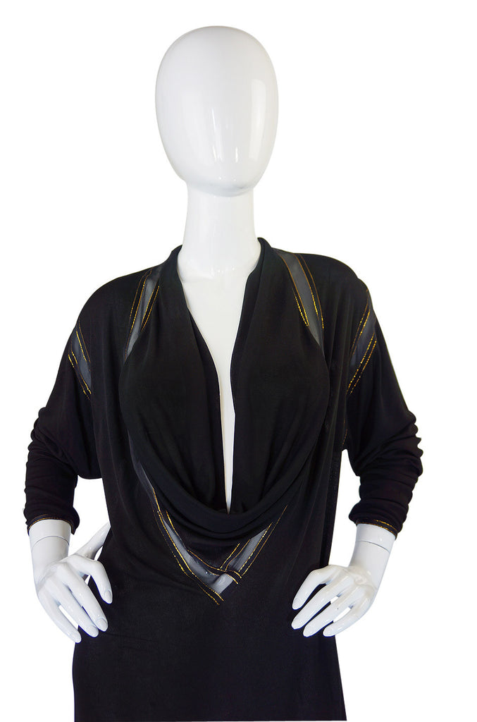 1970s Draped Jersey Janice Wainwright