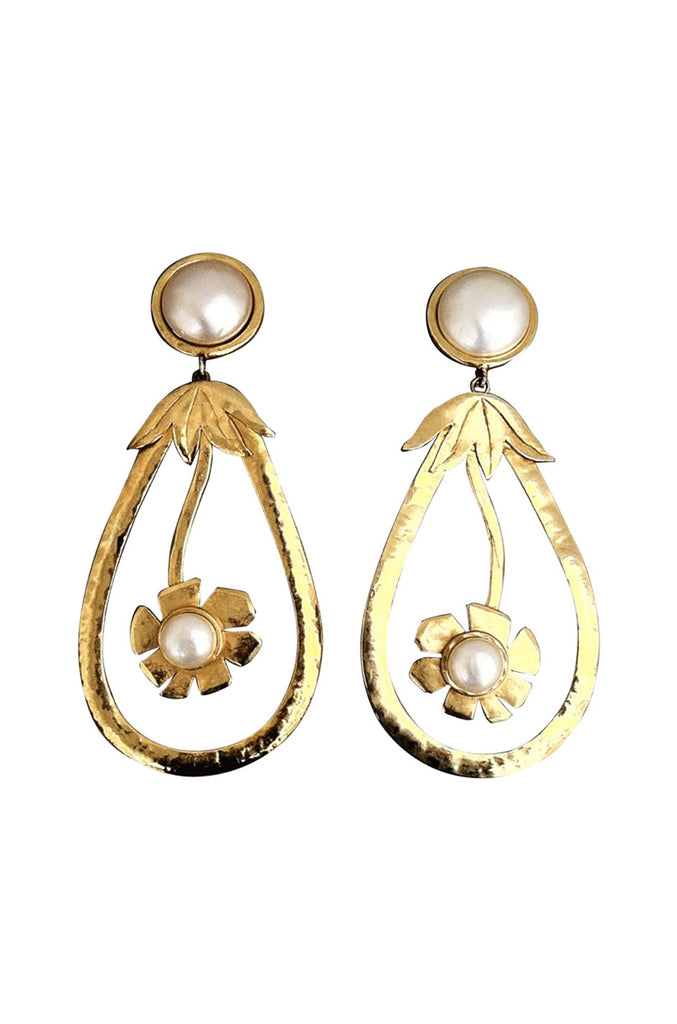 CHRISTIAN LACROIX Haute Couture Earrings 1990s