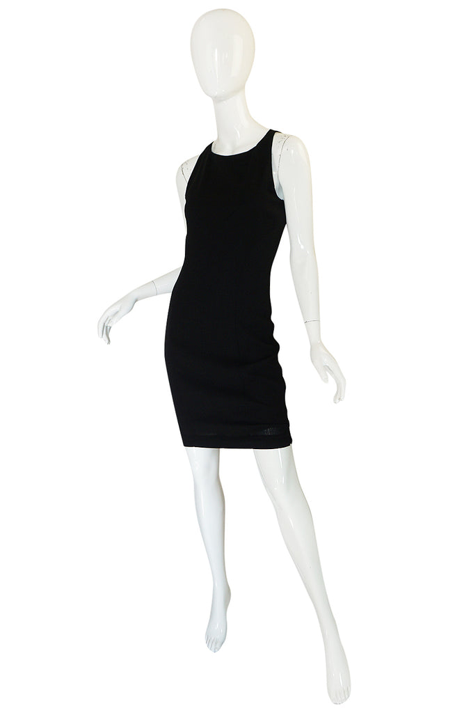 Fall 2006 Chanel Runway Little Black Fitted Stretch Dress