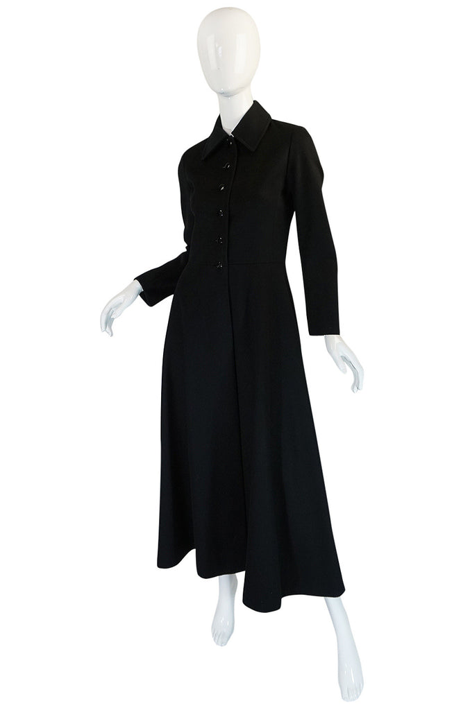 "1970s Documented Yves Saint Laurent ""Coachman"" Coat"