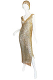 Rare 1970s Paco Rabanne Chain Mail Dress & Headpiece