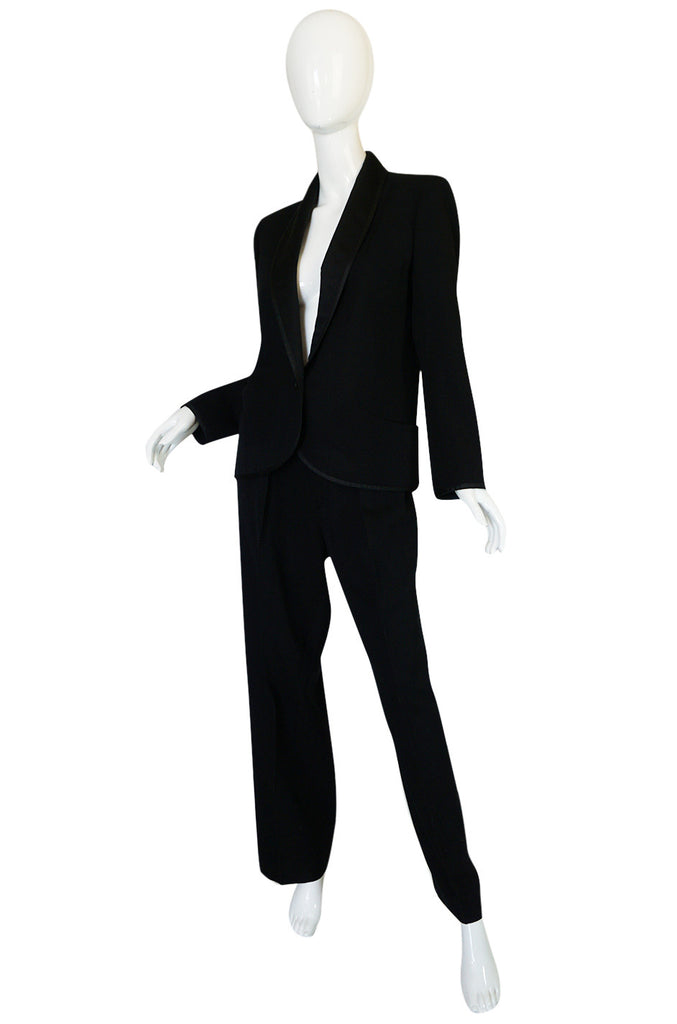 "Iconic c1967 Yves Saint Laurent ""Le Smoking"" Tuxedo Suit"