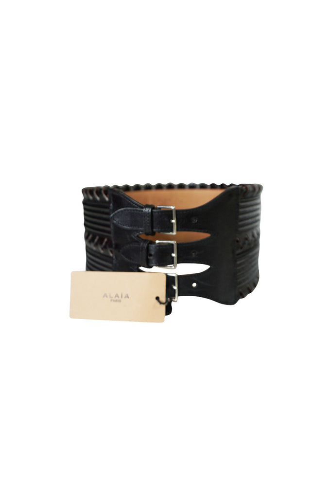2014 Azzedine Alaia Corset Belt NWT Originally $3200