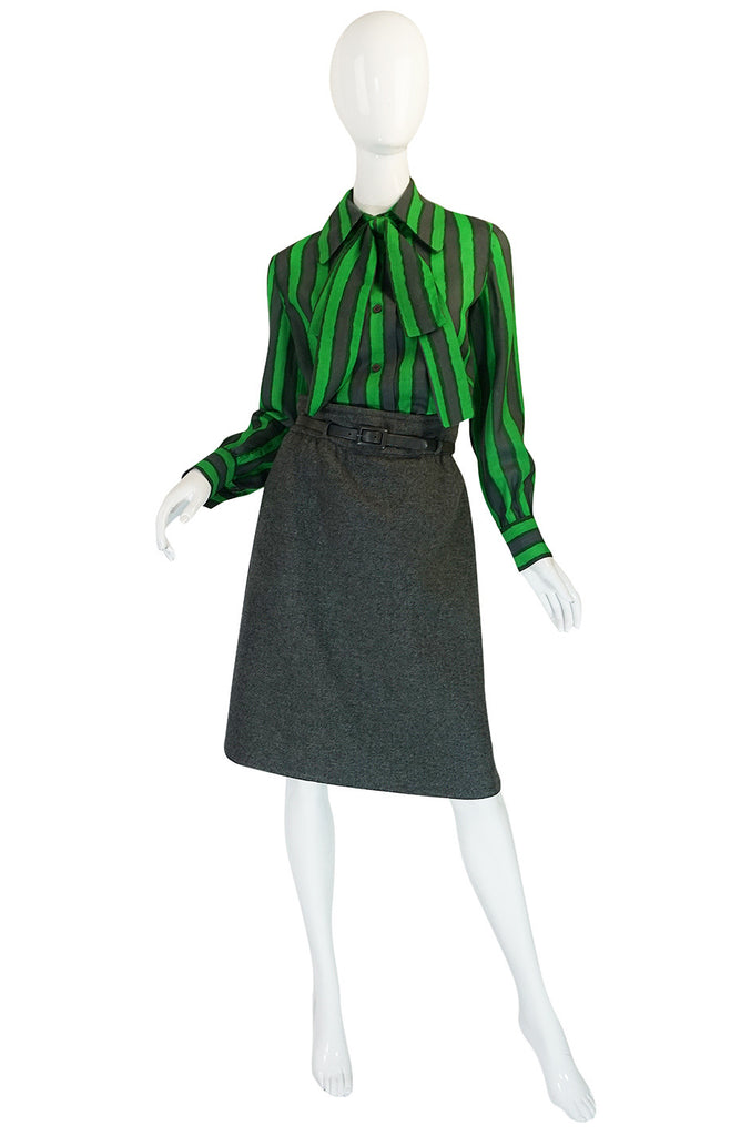 1972 Demi-Couture Marc Bohan Christian Dior 5-Piece Suit Set